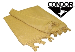 Condor Tactical Shemagh Face, Neck, and/or Head Wrap ( TAN )