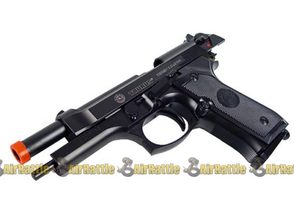 Full Metal Taurus PT92 Gas Blowback Pistol Airsoft Gun