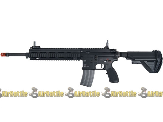 2262043 elite force h u0026k m27 iar full metal airsoft aeg   black    vfc