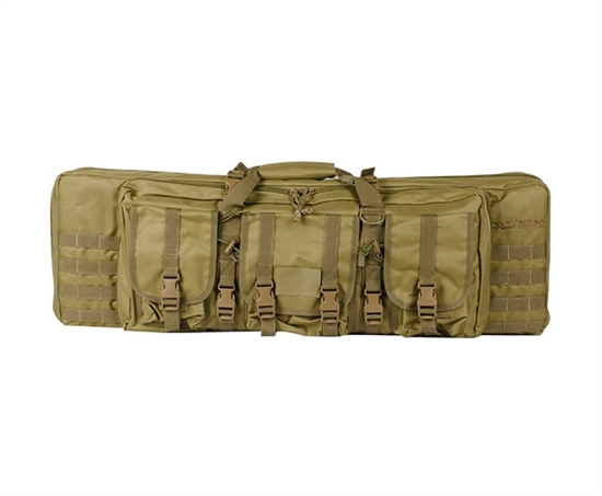 "Valken Tactical 36"" Double Rifle Bag Gun Case ( Tan )"