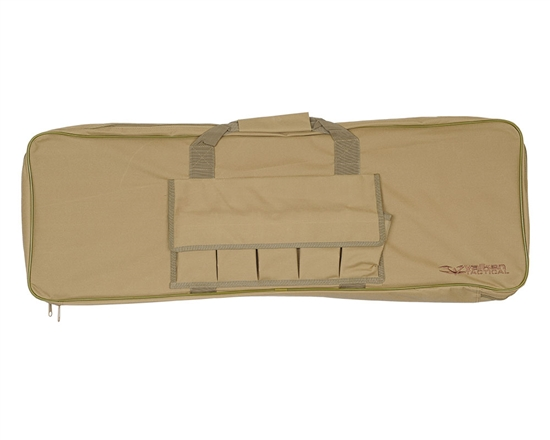 "Valken 42"" Tactical Single Airsoft Rifle Case ( Tan )"
