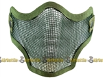 59050 Valken Tactical Wire Mesh Airsoft Face Mask ( OD Green )
