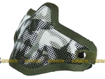59081 Valken Tactical Wire Mesh Airsoft Face Mask ( Green Skull )