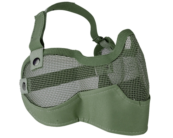 Valken Tactical 3G Wire Mesh Airsoft Face Mask ( Green )