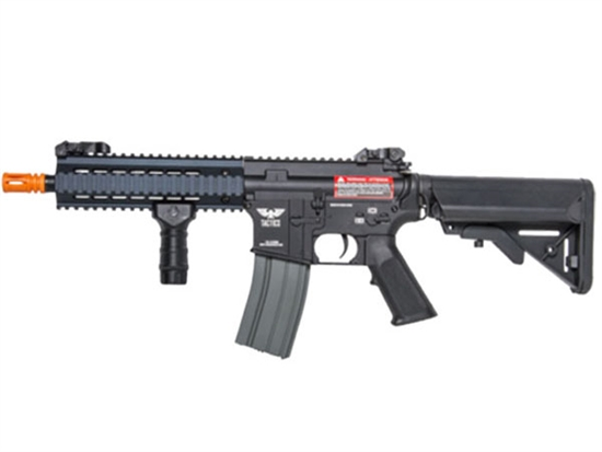 ACE020B Tactics Alpha by Apex Airsoft AEG Gun Black