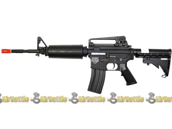 aim top full metal m4 carbine airsoft electric rifle