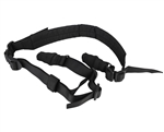 Aim Sports Padded Multi-Point Rifle Sling - Black (AOPS03B)