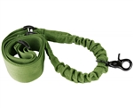 Aim Sports Rifle Sling - One/Single Point Bungee - Green (AOPSG)