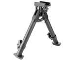 Aim Sports Bipod - Short Style Rail Mount For AR-15 Rifles (BPARSS)