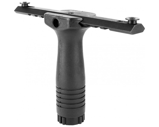 "Aim Sports Vertical Grip -  Cross Pin w/ 6"" Picatinny Rail"