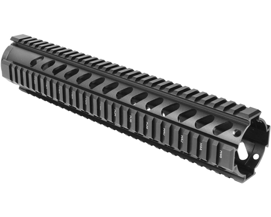 "Aim Sports Handguard - 12.5"" Free Float Quad Rail (MT062)"