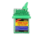 Flying Colors .12g Airsoft BB's - 2,000 Rounds - Green