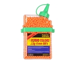 Flying Colors .12g Airsoft BB's - 2,000 Rounds - Orange