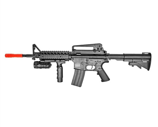 P.1158B+ Spring Powered Airsoft Rifle