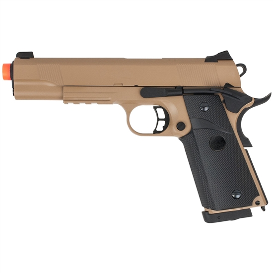 Valken Tactical TAC1911 Full Metal CO2 Blow Back Airsoft Pistol - Tan (86469)
