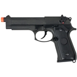 Valken Tactical KM9 Molded Gas Blow Back Airsoft Pistol - Black (86353)