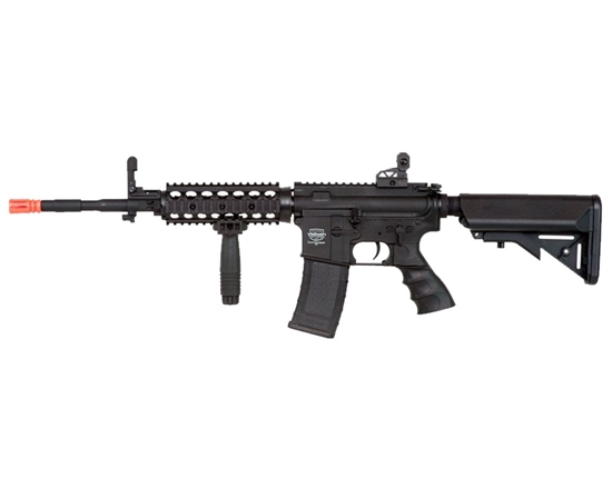 Valken Battle Machine TCC AEG Airsoft Rifle - Black