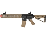 Valken Battle Machine V2.0 TRG-L AEG Airsoft Rifle - Black/DST