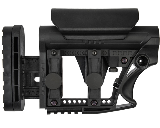 Luth-AR MBA-3 Tactical Rifle Buttstock - Black