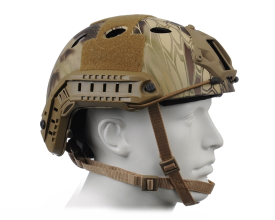 Bravo PJ V2 Tactical Helmet - Kryptek Highlander