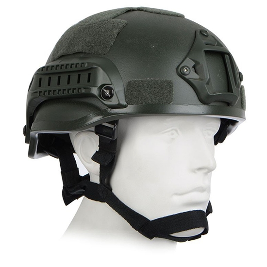 Tactical High Speed Airsoft Helmet - OD Green