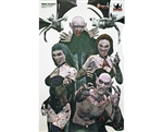 "3 Pack - 23"" x 35"" Shooting Targets - Vampire Mob"