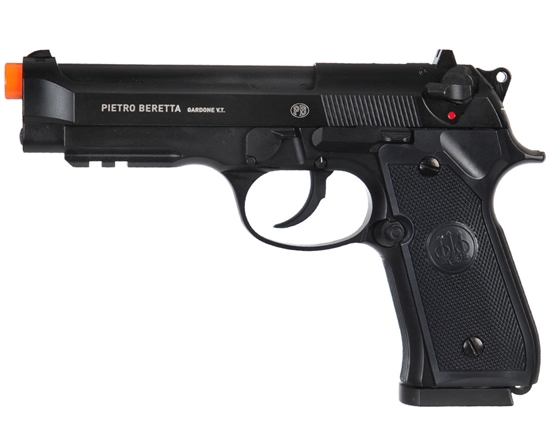 Beretta CO2 Airsoft Pistol Blowback Hand Gun - M92 A1 - Black (2274303)