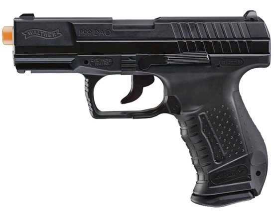 Walther CO2 Airsoft Pistol Blowback Hand Gun - P99 - Black (2272828)