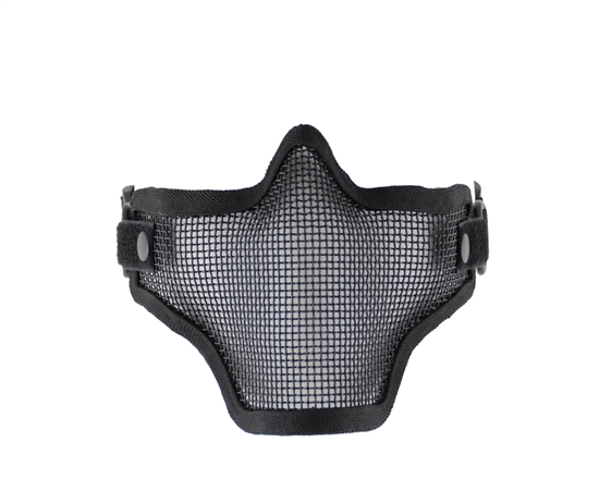 1G Striker Full Metal Face Mask - Black