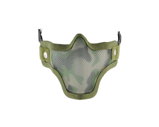 2G Striker Full Metal Face Mask - Jungle Camo