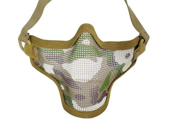 1G Striker Full Metal Face Mask - Camo