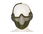 2G Striker Full Metal Face Mask w/ Ear Guard - OD Green
