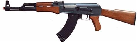 a k 47 machine gun