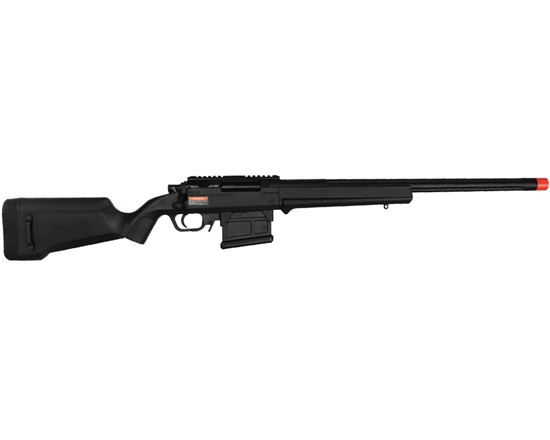 Amoeba AS-01 Striker Gen 5 Bolt Action Airsoft Rifle - Black