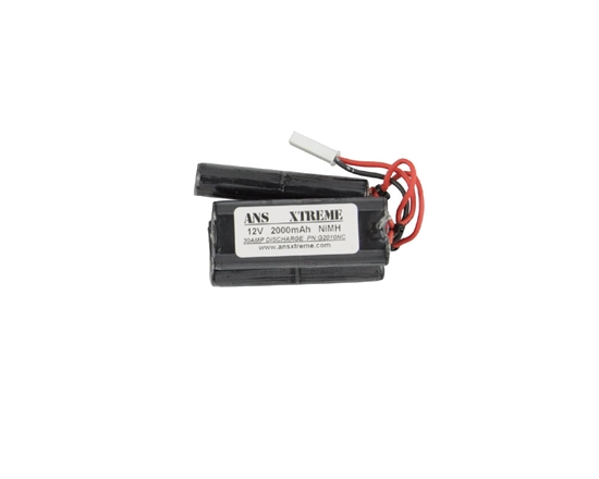 ANS Xtreme 12V 2000mAh NiMH Stagger Style Battery