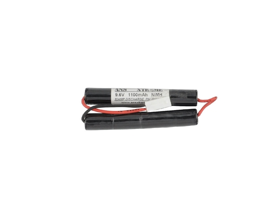 ANS Xtreme 9.6V 1100mAh NiMH Butterly Style Battery