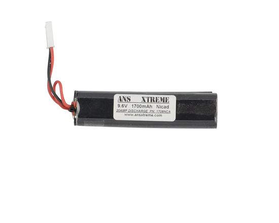 ANS Xtreme 9.6V 1700mAh NiCAD Nunchuck Style Battery