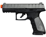 Beretta APX CO2 Airsoft Pistol Blowback Hand Gun - Silver/Black