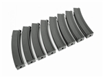 BOX 90 Round Mid-Cap Magazine Pack of 8 Made By MAG - MK5 M5 Mags