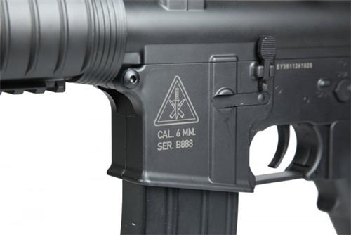 400 FPS Bravo M4 Carbine RIS Polymer Airsoft AEG Gun