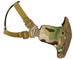 Bravo Airsoft Tactical Metal Mesh Face Mask - V3 Strike - Multicam