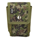 Empire Battle Tested Vest Accessory Pouch - Grenade ( Woodland Digi )