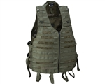 Empire Battle Tested Merc Tactical Airsoft Vest - Olive