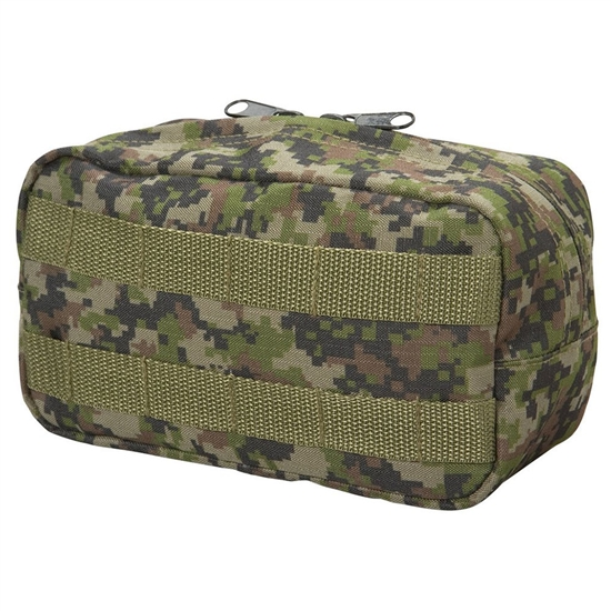 Empire Battle Tested Vest Accessory Pouch - Zipper ( Woodland Digi )