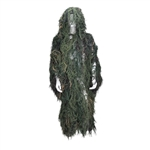 Bushrag Tactical Airsoft Ghillie Flage Suit - Woodland (65111)