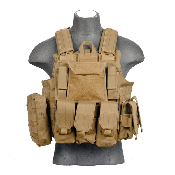 Ca 303t Lancer Tactical Strike Molle Plate Carrier Tan