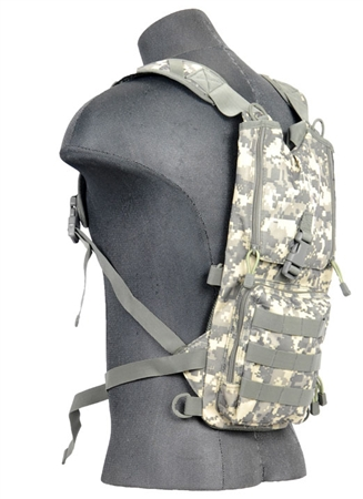 CA-321 ACU Lancer Tactical Hydration Pack w/ MOLLE Webbing