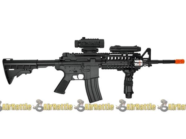 d92h wells m4 ris full auto airsoft aeg electric gun