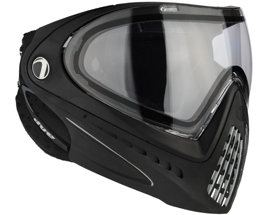 Dye Tactical i4 Thermal Full Face Mask Goggle System ( Black )