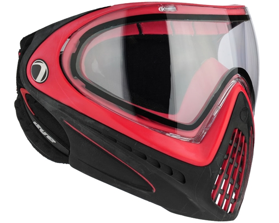 Dye Tactical i4 Thermal Full Face Mask Goggle System ( Red )